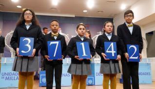 Lotería del Niño 2019: 37142, primer premio