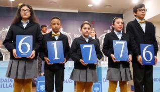 Lotería del Niño 2019: 61776, segundo premio