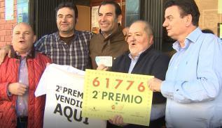 El municipio de Ajalvir celebra el segundo premio de la Lotería del Niño