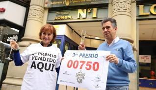 'Doña Isabel' reparte un millón del tercer premio en Zaragoza